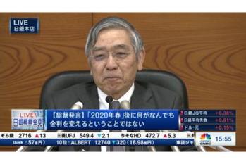 【2019/04/25】日銀総裁会見