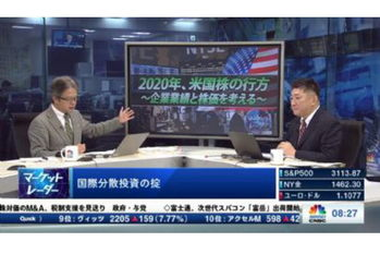 マーケット・レーダー【2019/12/03】