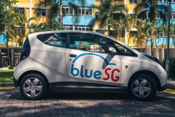 BlueSG Electric Car