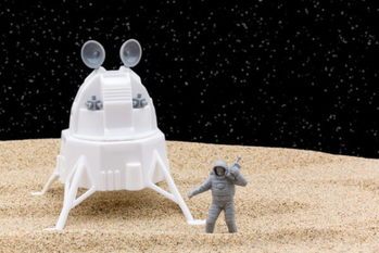 有人月面着陸,宇宙関連