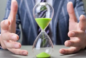 砂時計,時間
