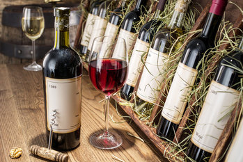 ワイン,富裕層