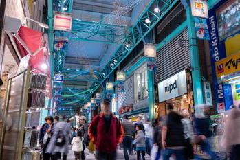 東京,商店街,ソフトインフラ