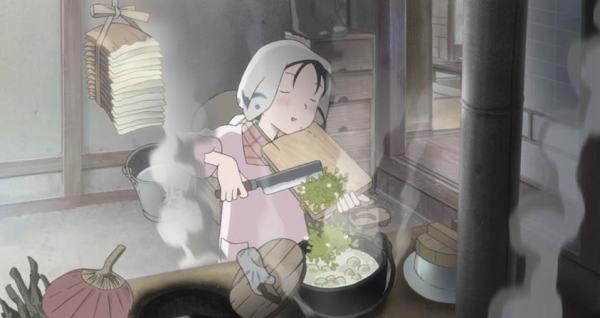 家事は苦手だったすずだが、草花料理を楽しむように(写真=プレミアムジャパン)