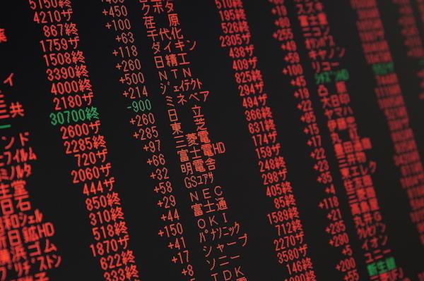 電子株取引画面