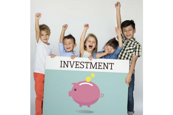 投資,子ども,金融リテラシー