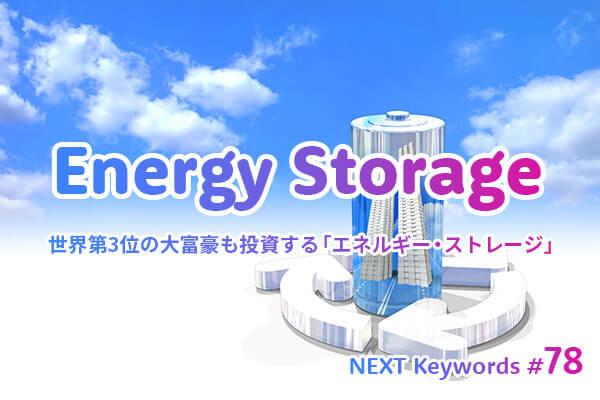 世界第3位の大富豪も投資する「エネルギー・ストレージ」 2035年までに約56兆円規模に成長!?