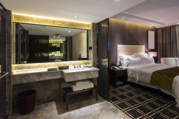 富裕層,高級ホテル,平日
