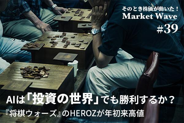 HEROZ,株価