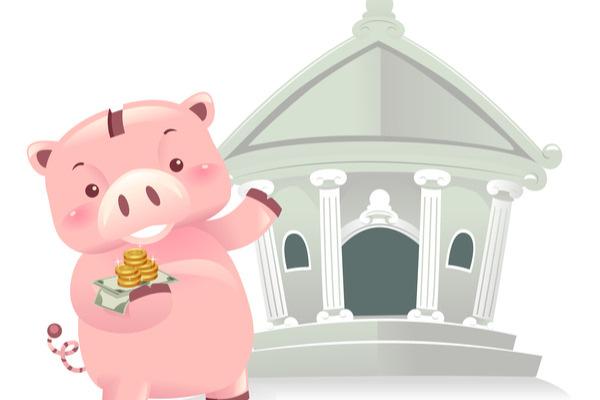 イメージキャラクター,銀行