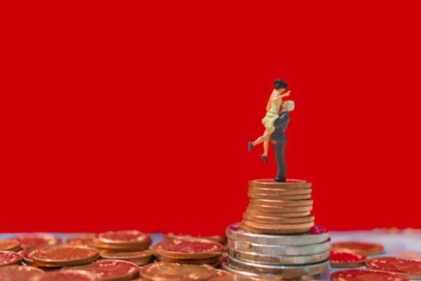 共通口座, 家計, カップル, 共有財産, 離婚
