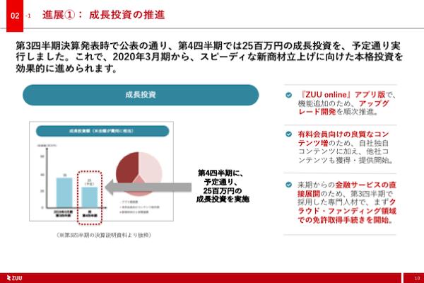 2019年3月期第4四半期決算説明資料