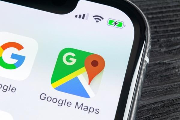 グーグルマップ,地図提供,ゼンリン