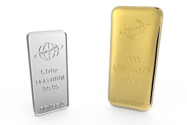 プラチナ,金,価格逆転