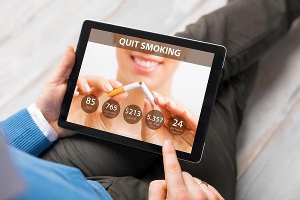 アプリ,禁煙