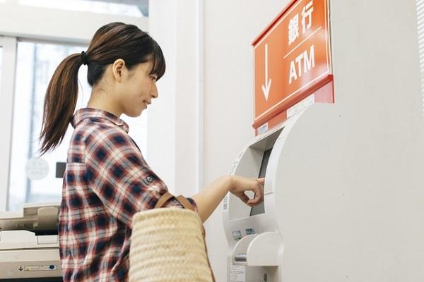 スマートフォン,ATM,じぶん銀行
