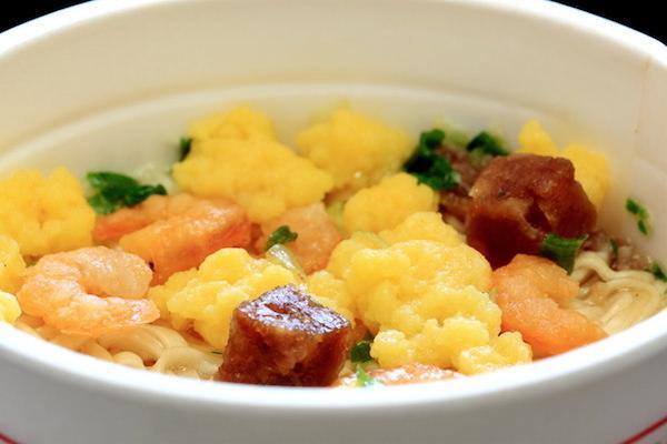 日清,謎肉,カップ麺,大豆