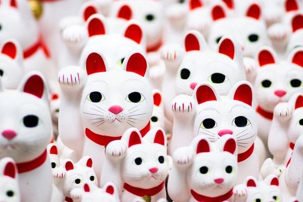 金運,パワースポット,招き猫