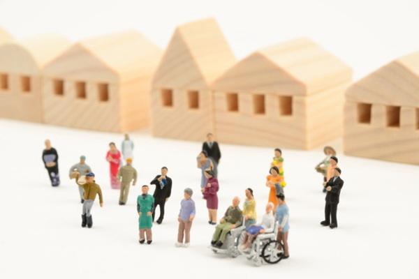 仮設住宅,賃貸住宅,コミュニティ