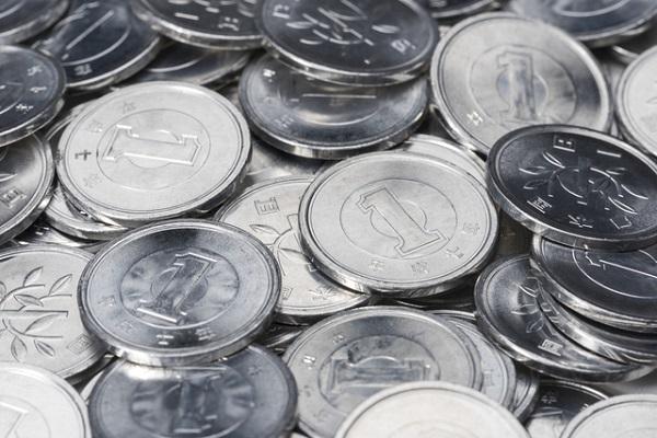 1円玉,流通量