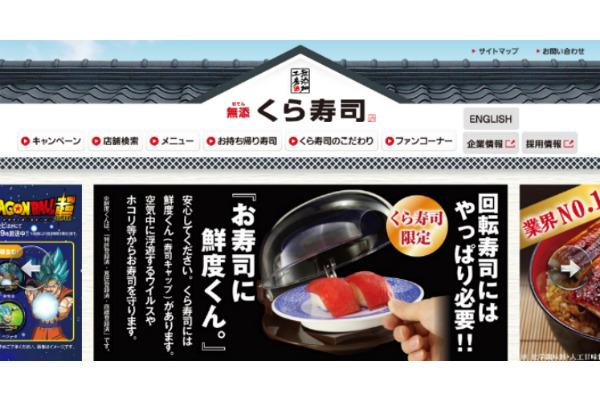 くら寿司,株価暴落
