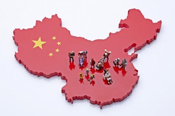 中国,都市,地方