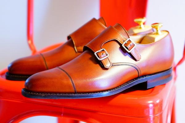 革靴,モンクストラップ