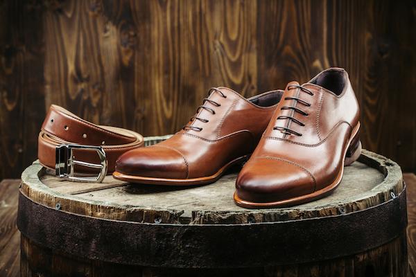 革靴,ストレートチップ