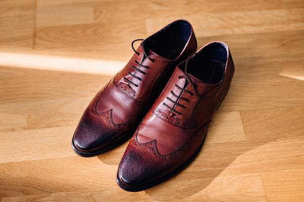 革靴,ウイングチップ