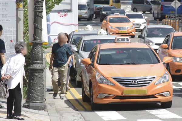 韓国経済,タクシー業界