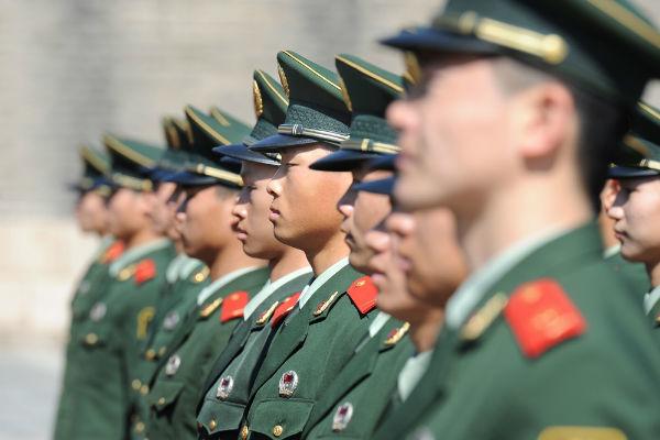 中国,中国軍