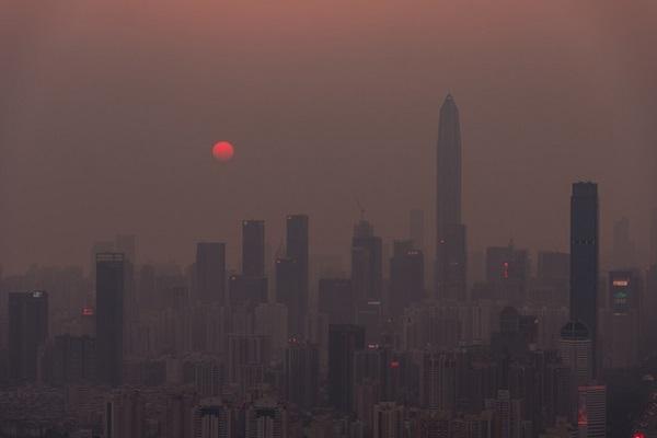中国,環境問題,大気汚染