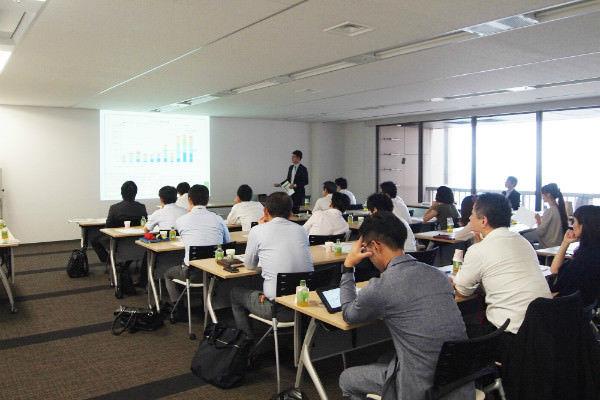 「東南アジアにおける不動産市場に関する講演会」の様子