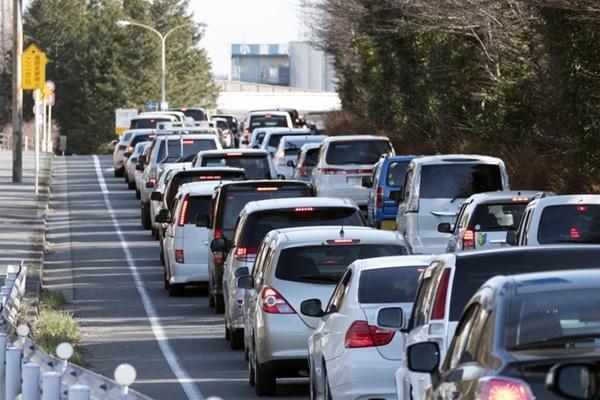 渋滞,運転,クルマ