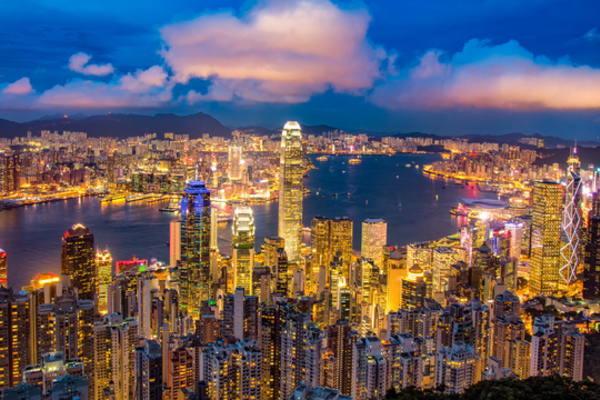 中国株式市場,香港株式市場