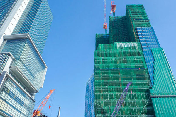 東京,再開発,オフィスビル
