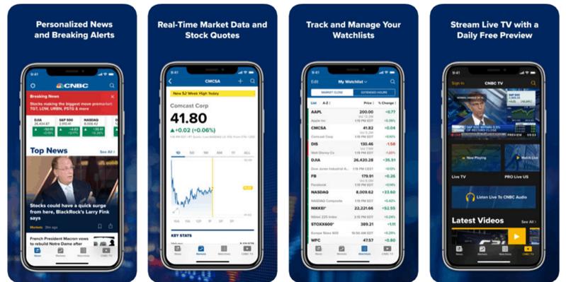 米国株取引に役立つスマホアプリ6選