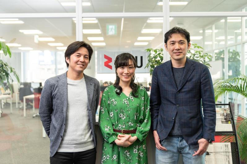 (左から)藤田、崔、冨田の3氏
