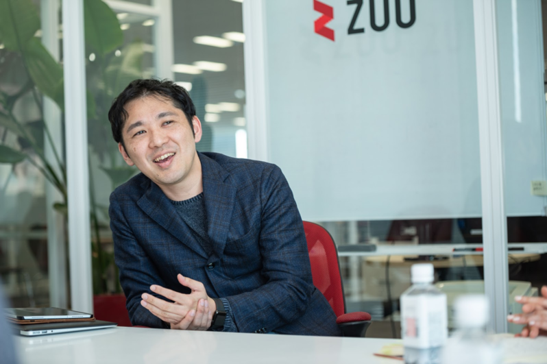 ZUU代表取締役 冨田和成氏