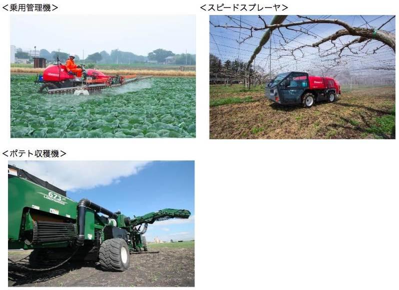 農業用管理機械事業